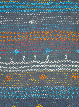 Embroidered Ralli Quilt