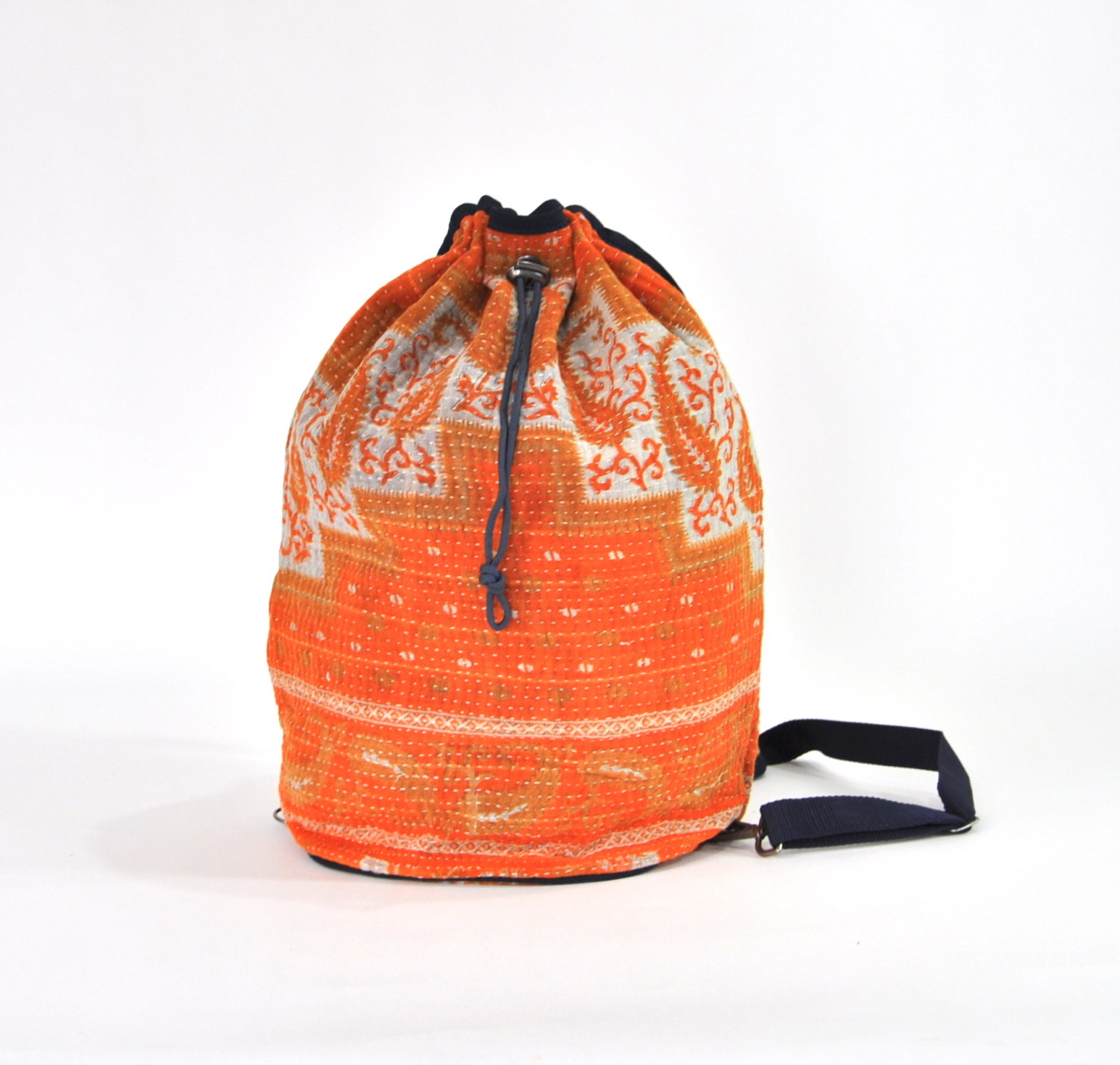 YESNESS Kantha Ganesha Crossbody Duffle/Yoga Mat Bag