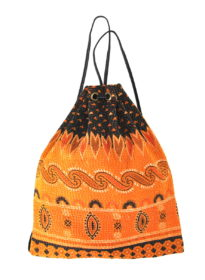 Kantha Wabi Drawstring Backpack