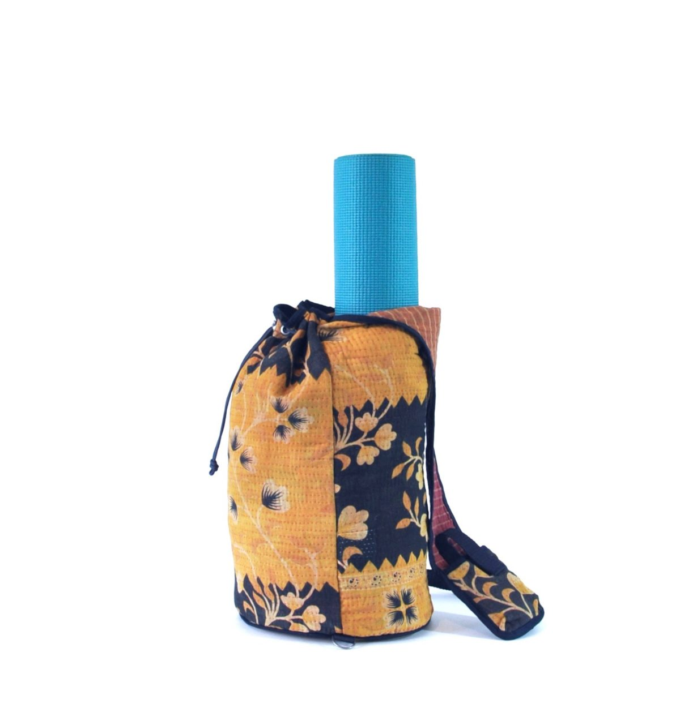 YESNESS Saffron Yellow w: Indigo 3
