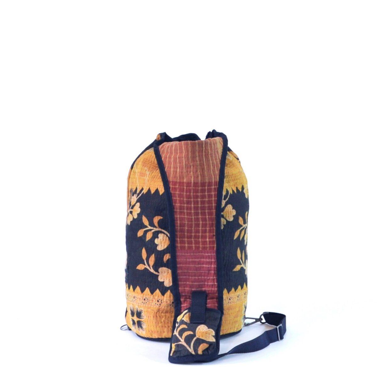 YESNESS Saffron Yellow w: Indigo 5