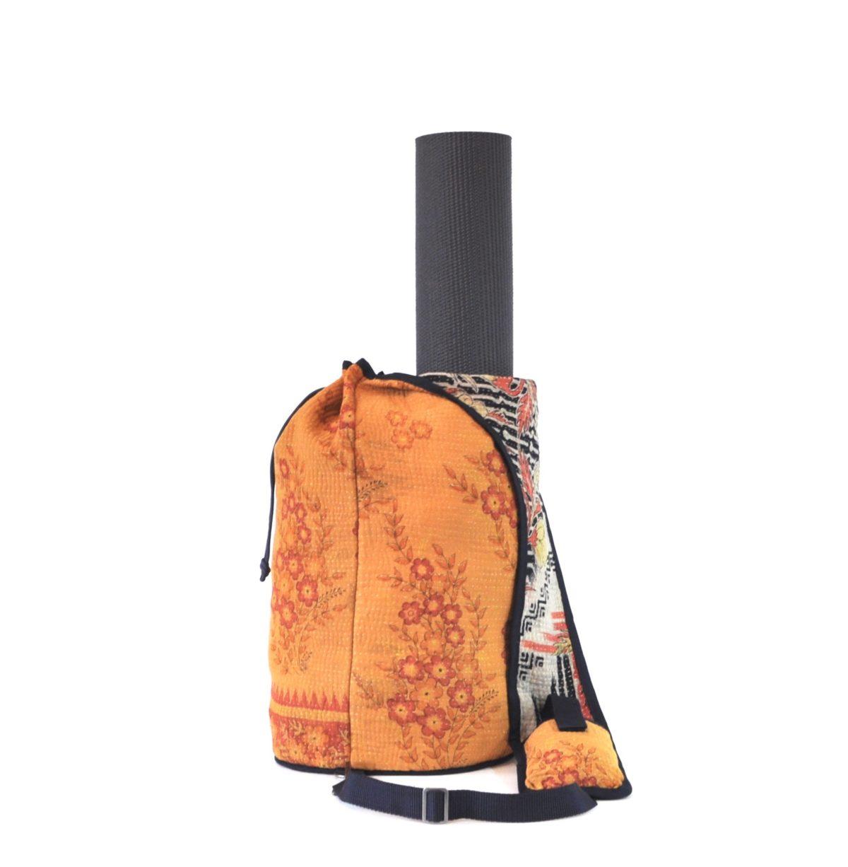 YESNESS Saffron w:Pale Red Flower Sprays 3
