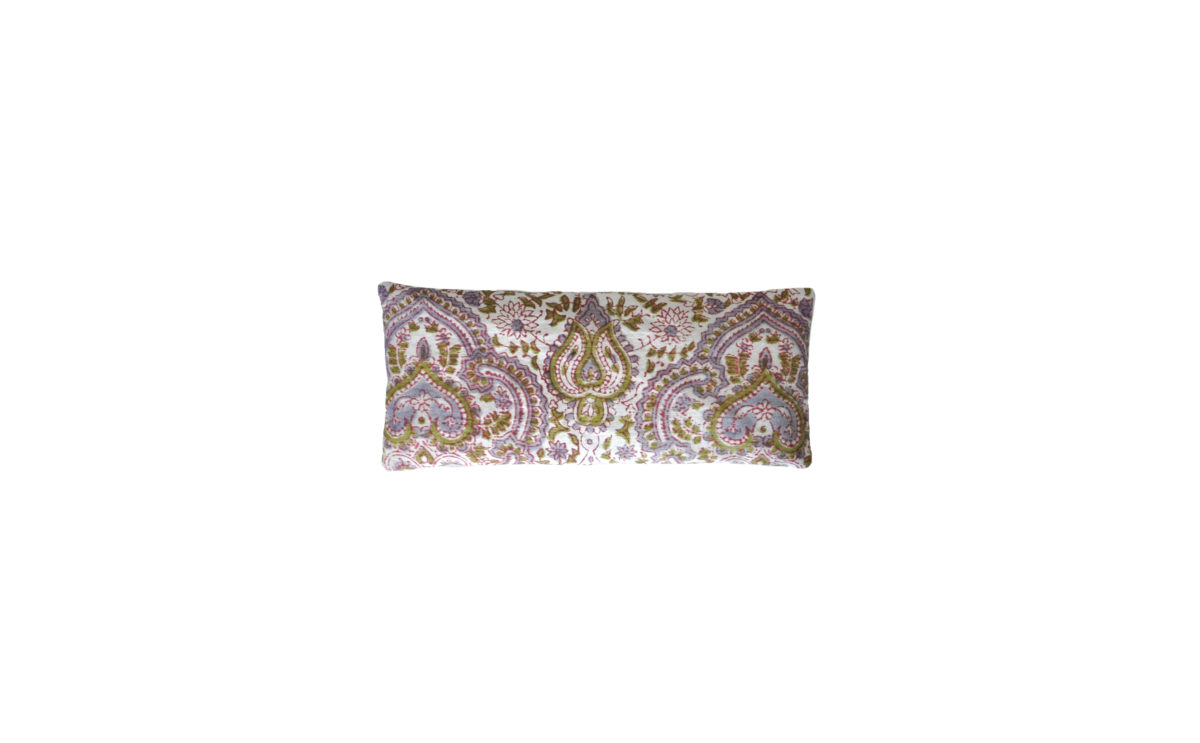 Lavender and Green Paisley