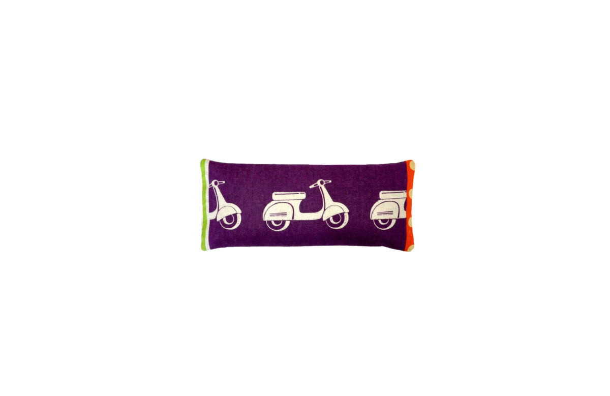 Purple Scooters eyepillow