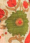 GREEN & ORANGE FLORAL