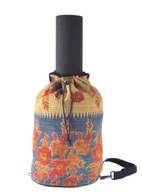 Kantha Crossbody Duffel / Yoga Bag