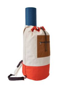 Canvas Crossbody Duffel / Yoga Bag